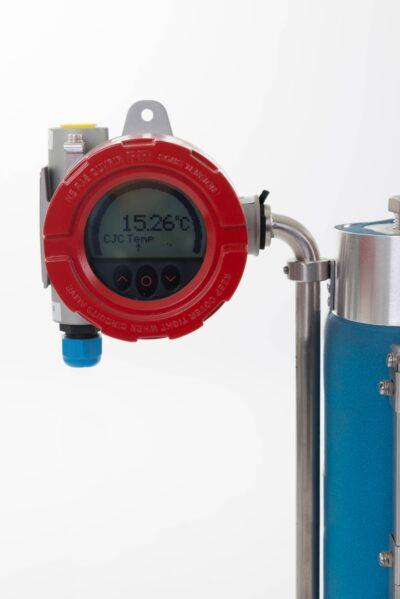 Transmitter level gauge